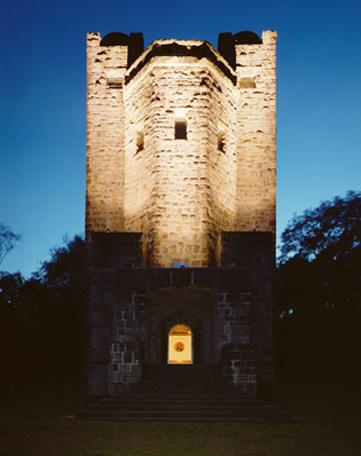 Freiherr vom Stein Turm erstrahlt in neuem Licht