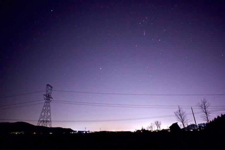 Städte schalten Licht aus